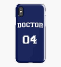 Doctor # 04 iPhone Case/Skin