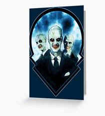 The Gentlemen: Buffy The Vampire Slayer  Greeting Card