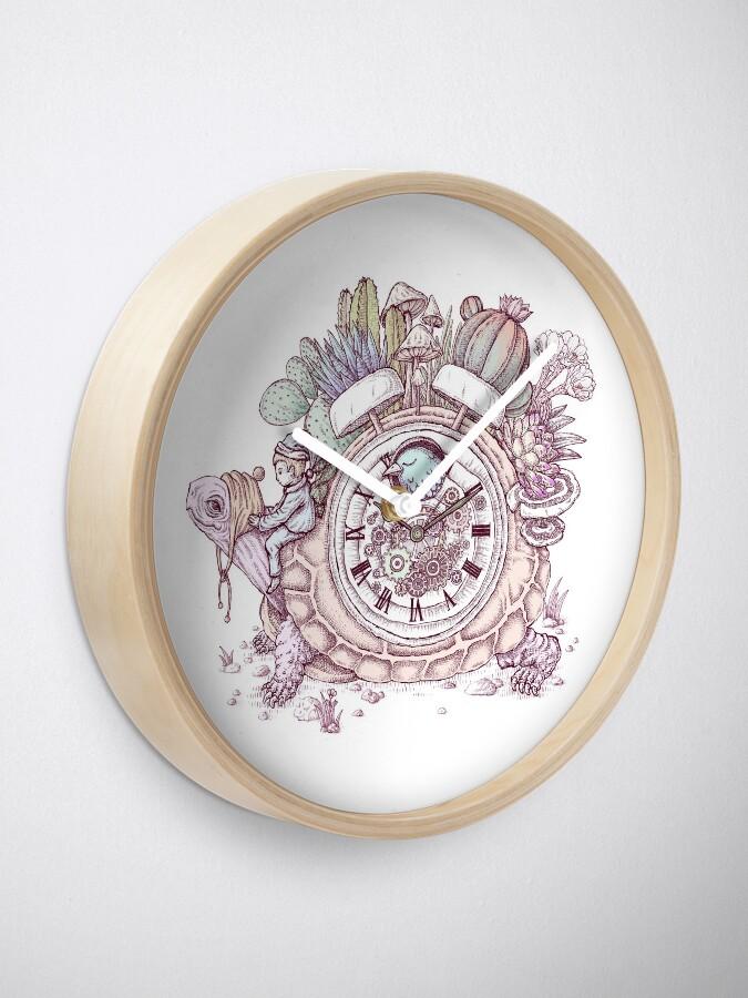 Alternate view of slow alarm clock Clock