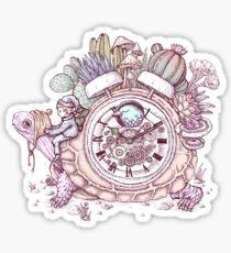 slow alarm clock Sticker