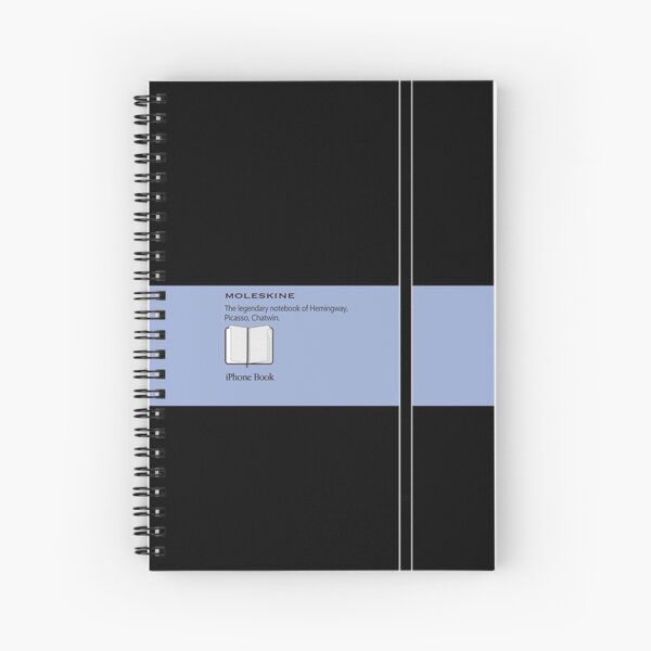Moleskine Blue Spiral Notebook