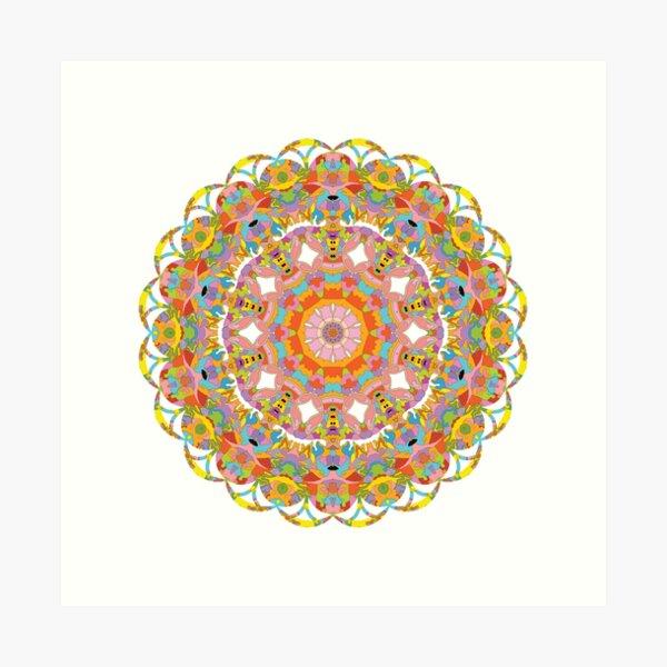 Mandala 012 Art Print