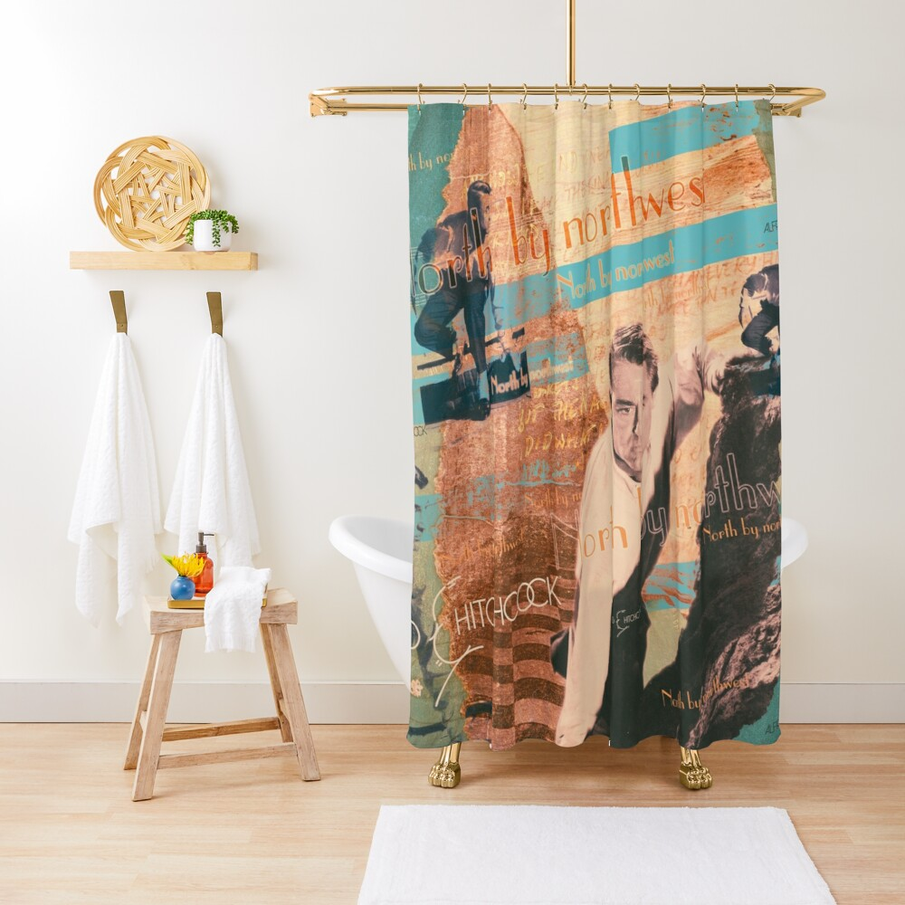 the invisible third Shower Curtain