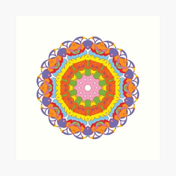 Mandala 07 Art Print