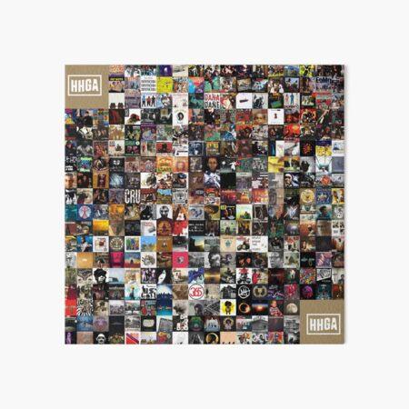 Greatest Hip Hop Albums 1986 - 2018 Art Board Print