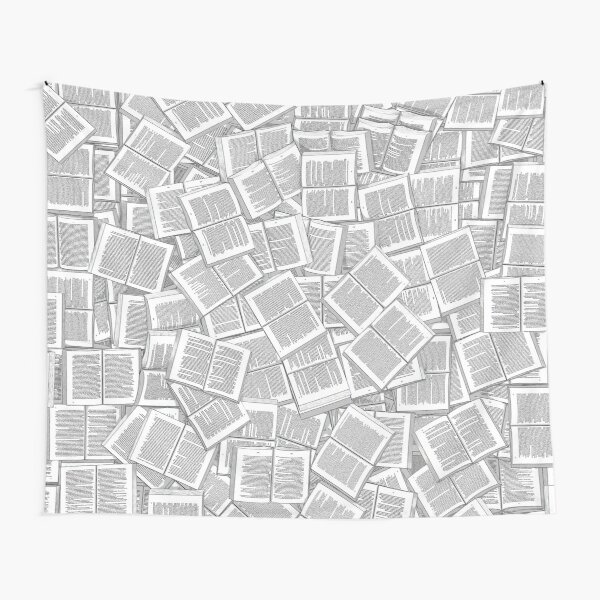 Literary Overload Tapestry