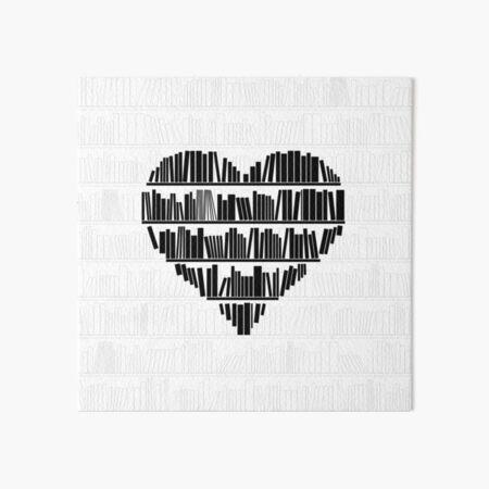 Book Lover II Art Board Print