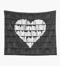Buchliebhaber Wandbehang