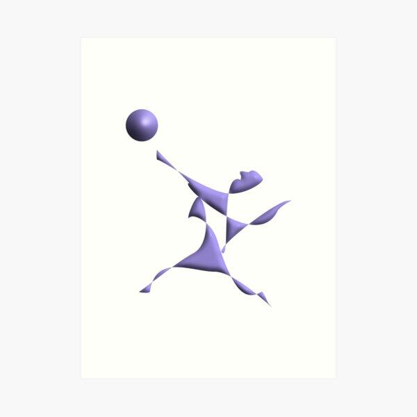 Volleyball Art Print