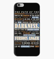 Pulp Fiction: Ezekiel 25:17 iPhone Case