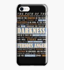 Pulp Fiction: Ezekiel 25:17 iPhone Case/Skin