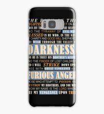 Pulp Fiction: Ezekiel 25:17 Samsung Galaxy Case/Skin