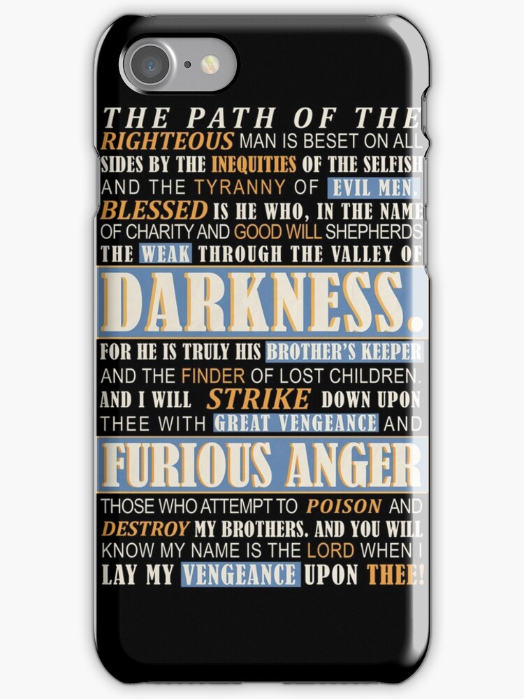 Pulp Fiction: Ezekiel 25:17 by Badga