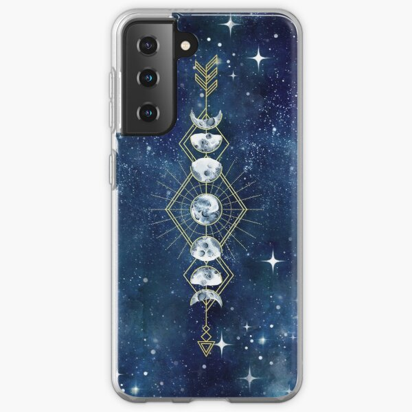 Moon Cycle Arrow Samsung Galaxy Soft Case