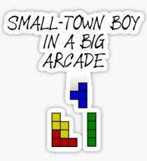 Esc 2019 Winner Song - Duncan Laurence - Small Town boy in a big arcade Sticker