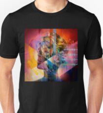 P! Nk pink tut weh 2b human beautiful trauma tour Slim Fit T-Shirt
