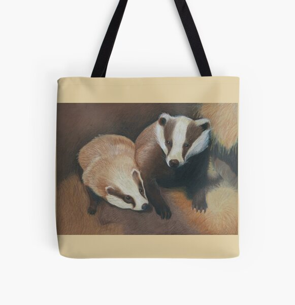 Badgers All Over Print Tote Bag