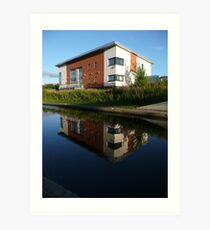 Sighthill Building Art Print