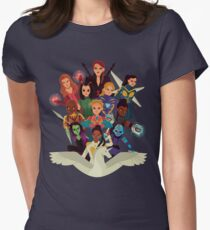 SHEroes v2 Tailliertes T-Shirt