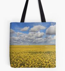 Fields of Yellow all is well. Tote Bag