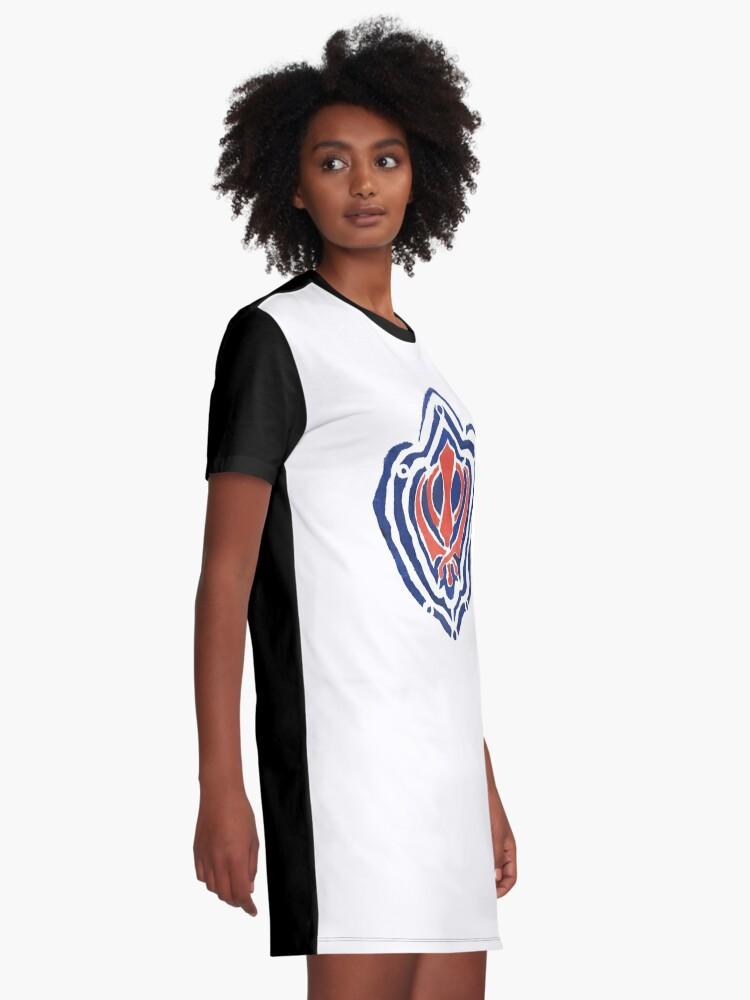 Alternate view of ADI SHAKTI  Graphic T-Shirt Dress