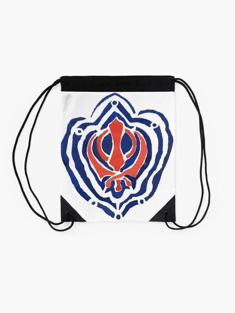 Alternate view of ADI SHAKTI  Drawstring Bag