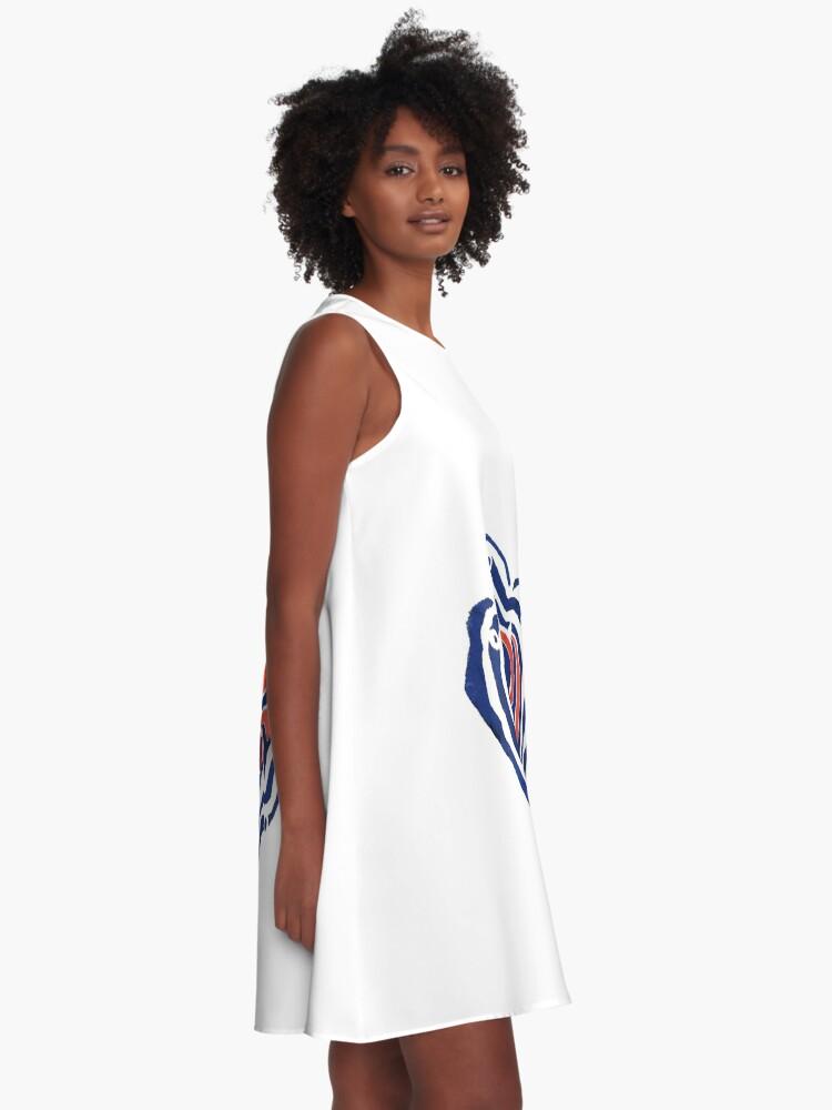 Alternate view of ADI SHAKTI  A-Line Dress