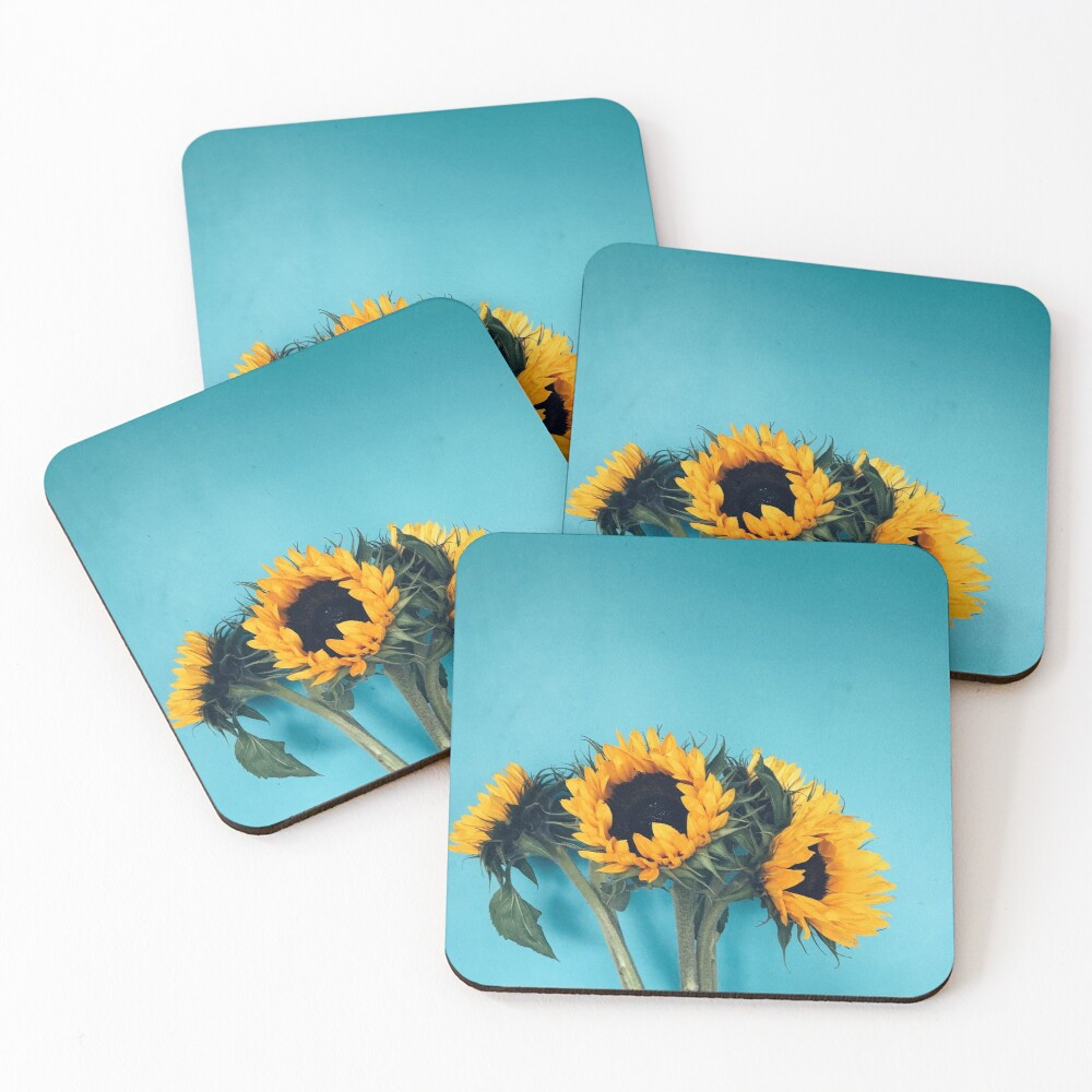 Sunflowers Coasters (Set of 4)