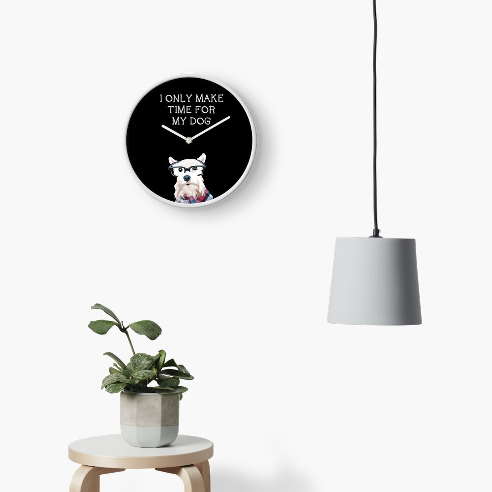 All About Dogs - Dog Clock Clock