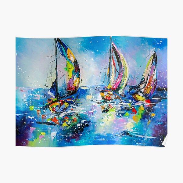 Sailing races Poster
