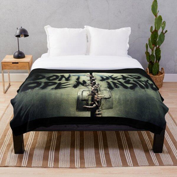 The Walking Dead Door Throw Blanket