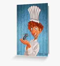 Alfredo Linguini- Ratatouille. Greeting Card