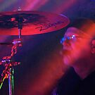 Smokey Drummer by MaryGerken