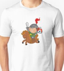 little knight with his horse Unisex T-Shirt