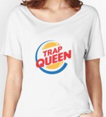 TRAP QUEEN Women's Relaxed Fit T-Shirt