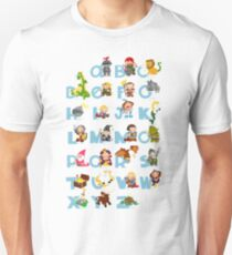 ABC medieval (english) Unisex T-Shirt