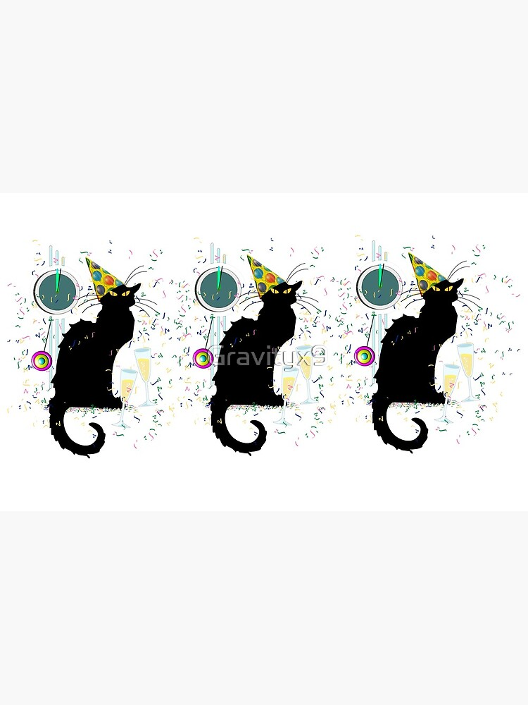 Chat Noir Silvester Party Countdown von Gravityx9