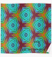 ( WAHID  )   ERIC  WHITEMAN  ART   Poster