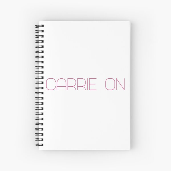 Carrie On Misc Spiral Notebook