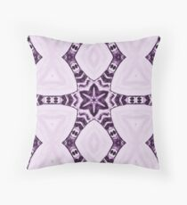 Tribal Purple Sextet Throw Pillow