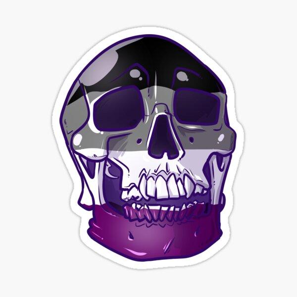 Ace Skull Sticker