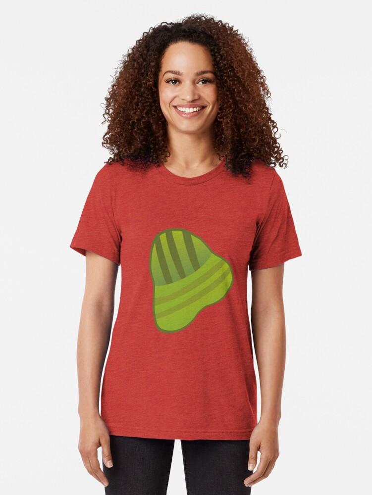 Vista alternativa de Camiseta de tejido mixto Tamal De Arroz