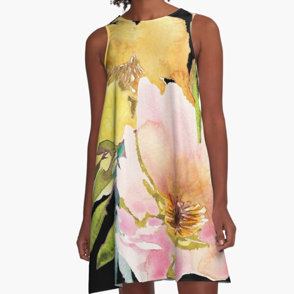 Wildflowers – for a Fresh Breeze A-Line Dress