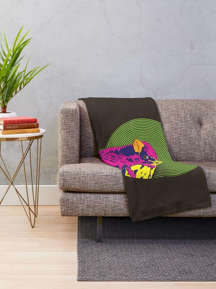 Alternate view of Sparrow Spectrum Throw Blanket