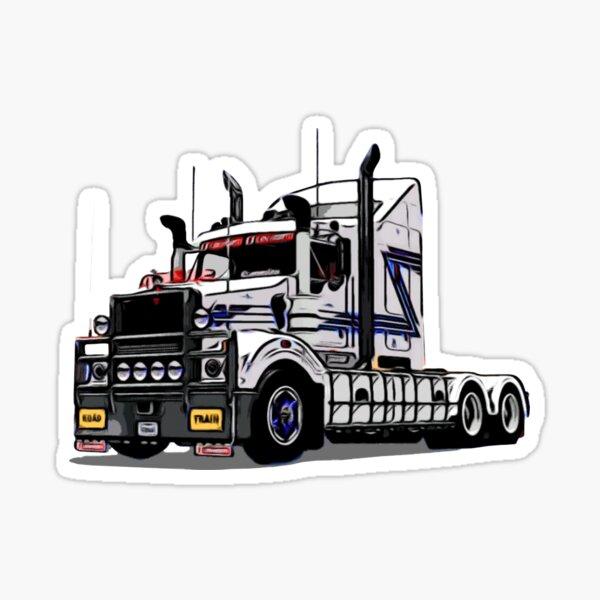 Kenworth T408 SAR Sticker