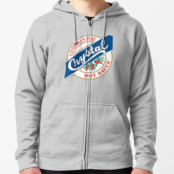Crystal Hot Sauce Zipped Hoodie