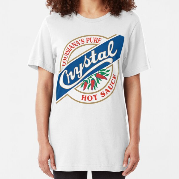 Crystal Hot Sauce Slim Fit T-Shirt