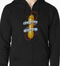 Microbial Badass Tattoo - full colour Zipped Hoodie