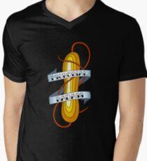 Microbial Badass Tattoo - full colour Men's V-Neck T-Shirt