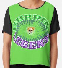 Burpin' Legend! Chiffon Top